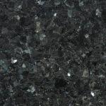 Naturstein, Hartgestein, schwarz, funkelnd, reflektierend, gesprenkelt