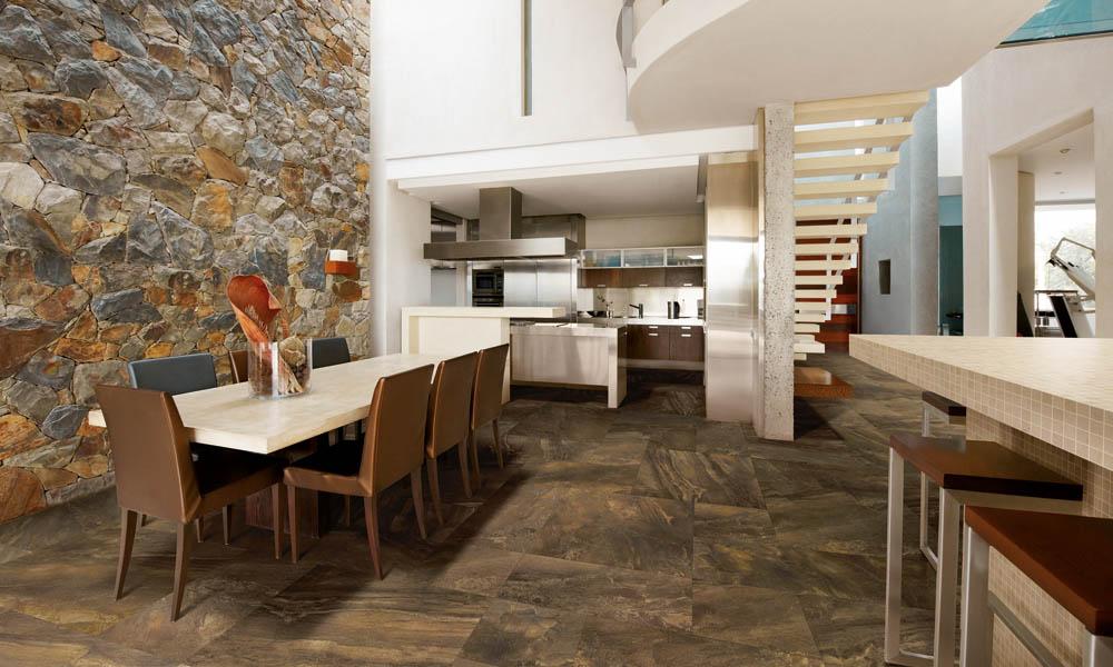 Küche Boden-und Wandfliesen - Fliesen Thomas