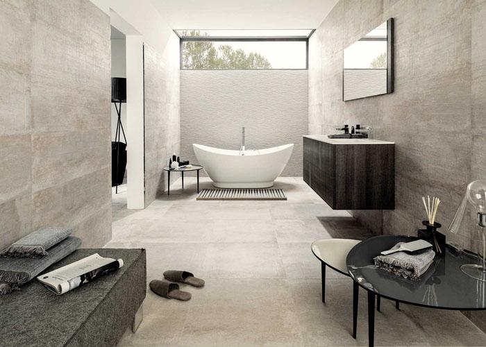 Bodenbelag Bad Auf Fliesen Elegant Fliesen Badezimmer Ideen Im Stil With Bodenbelag Bad Auf
